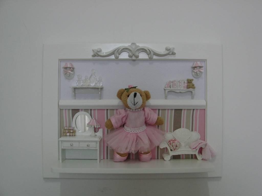 Decoração de Quarto Bebê Feminino em Raposo Tavares - Decoração de Quarto de Bebê Feminino Rosa