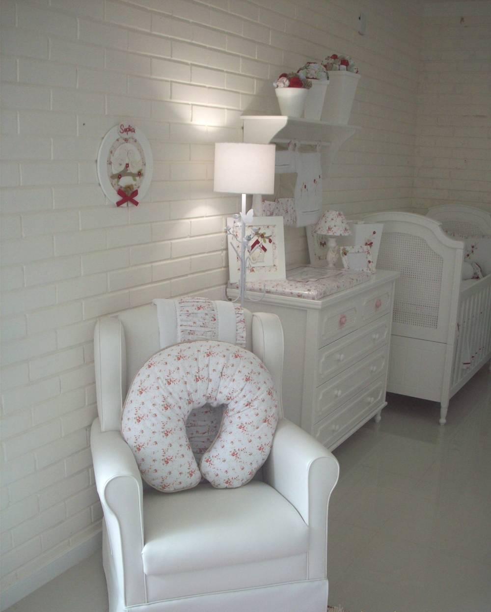 Decoração de Quarto de Bebê em Apartamento Pequeno em Santa Isabel - Quartos de Bebê Decoração