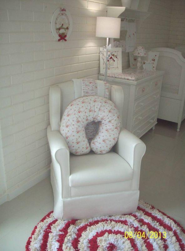 Decoração de Quarto de Bebê Feminino Rosa no Campo Grande - Decoração de Quartos para Bebê Feminino
