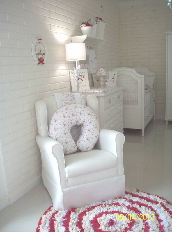 Decoração de Quarto de Bebê Simples e Barato em Guarulhos - Decoração de Quartos de Bebê Feminino
