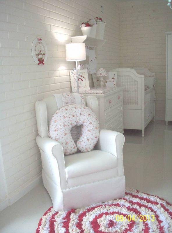 Decoração de Quarto de Bebê Simples e Barato na Casa Verde - Decoração de Quarto de Bebê Feminino Rosa