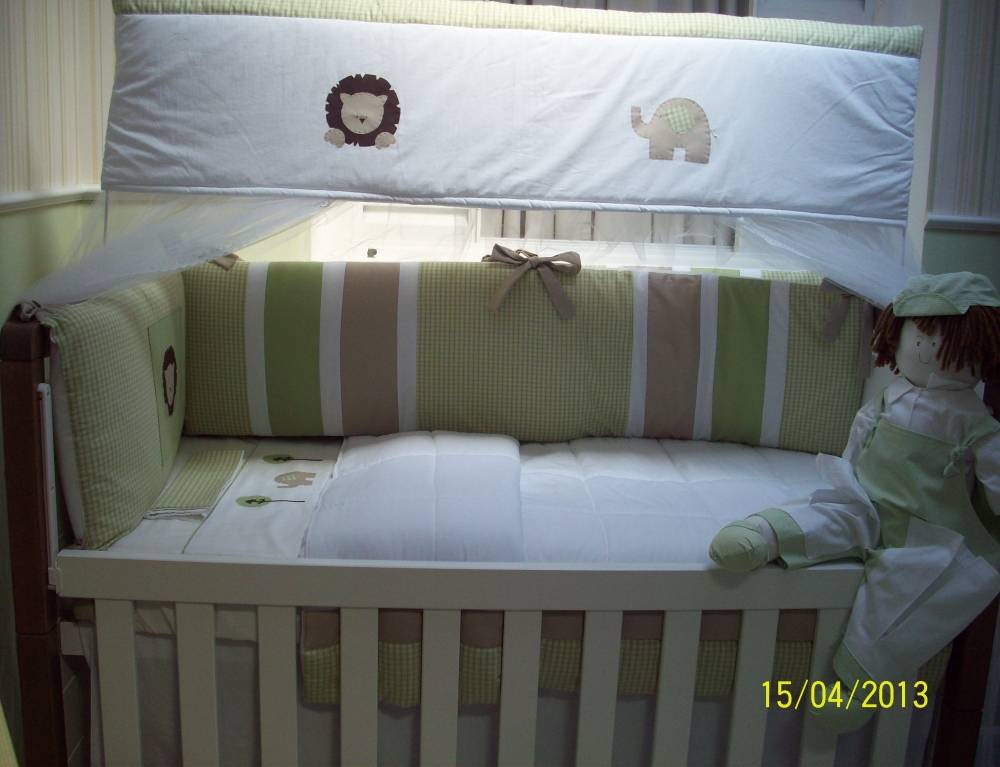 Decoração de Quarto para Bebê Masculino no Jockey Club - Decoração para Quartos de Bebê Masculino