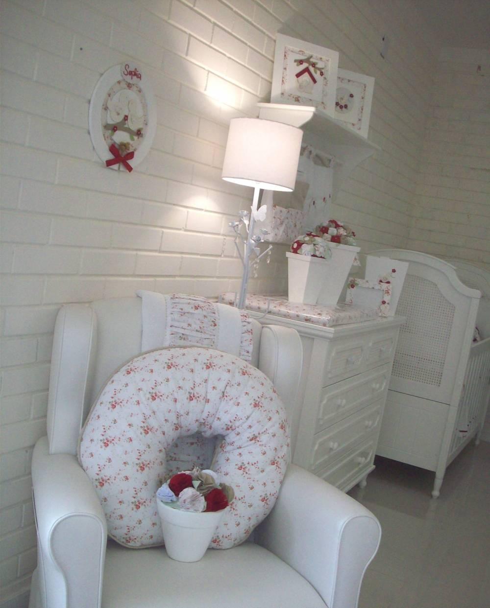 Decoração do Quarto de Bebê Feminino em Pinheiros - Decoração Quarto Bebê Feminino Simples