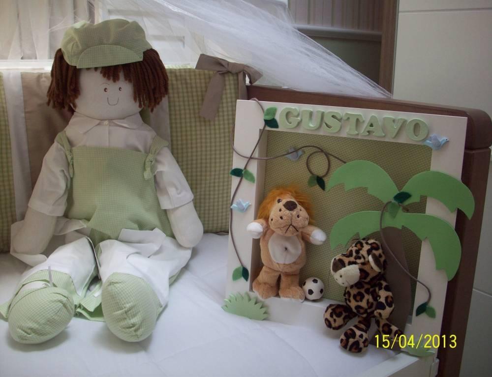 Decoração do Quarto do Bebê Masculino na Casa Verde - Decoração para Quarto de Bebê Masculino