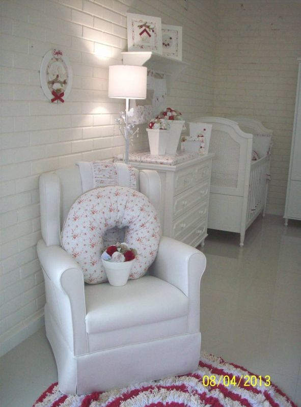 Decoração para Quarto Bebê Feminino no Ibirapuera - Decoração Quarto de Bebê Feminino