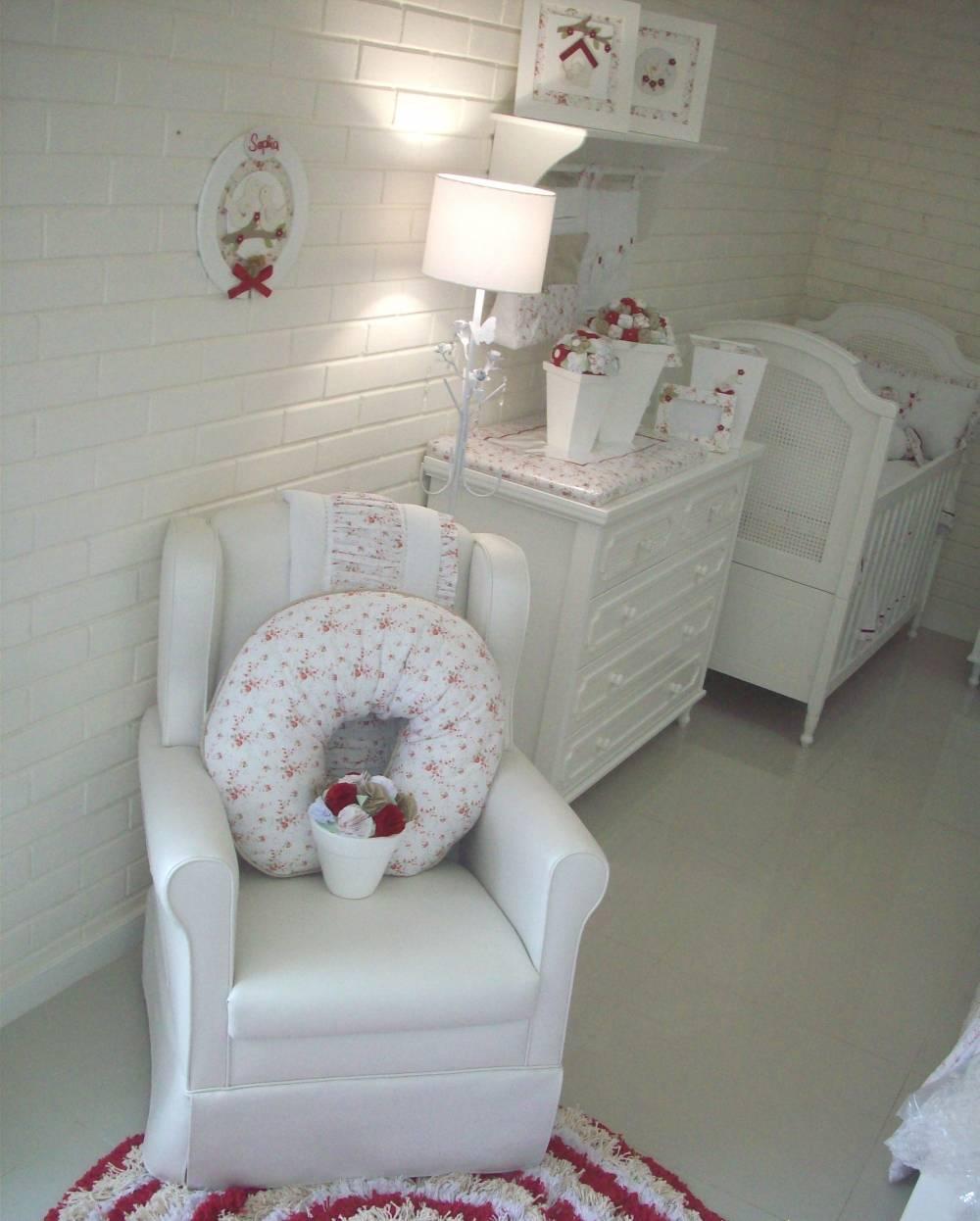 Decoração para Quartos de Bebê Feminino em Belém - Decoração de Quarto de Bebê Feminino Rosa