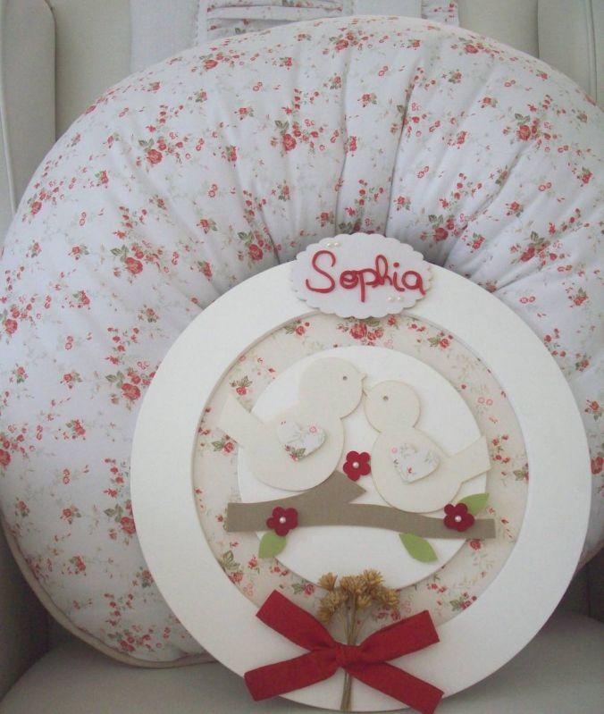 Decoração Quarto de Bebê Feminino Princesa em Glicério - Decoração de Quartos para Bebê Feminino