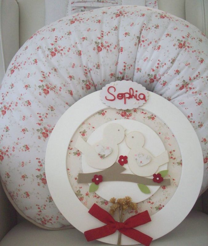 Decorações de Quarto Bebê Pequeno em Embu das Artes - Decoração Quarto de Bebê Menina