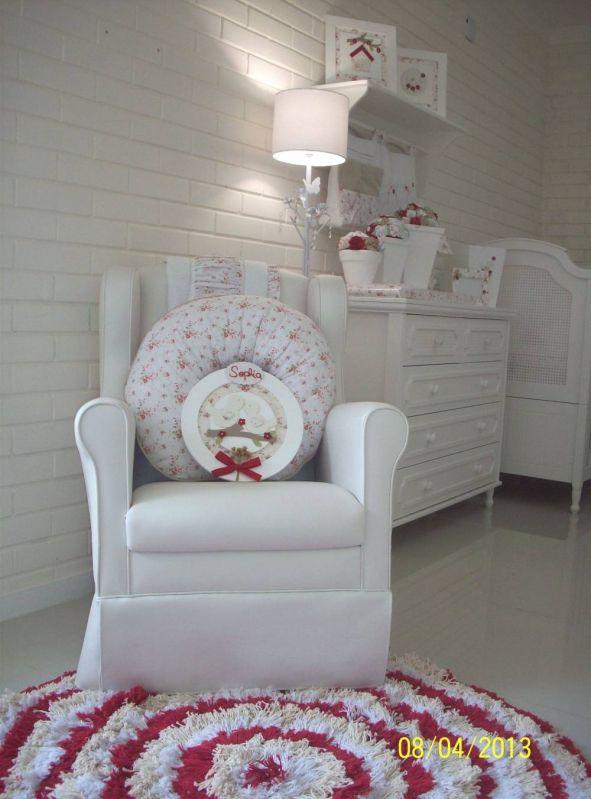 Decorações de Quarto de Bebê Feminino Rosa no Tremembé - Decoração Quarto de Bebê Feminino Princesa