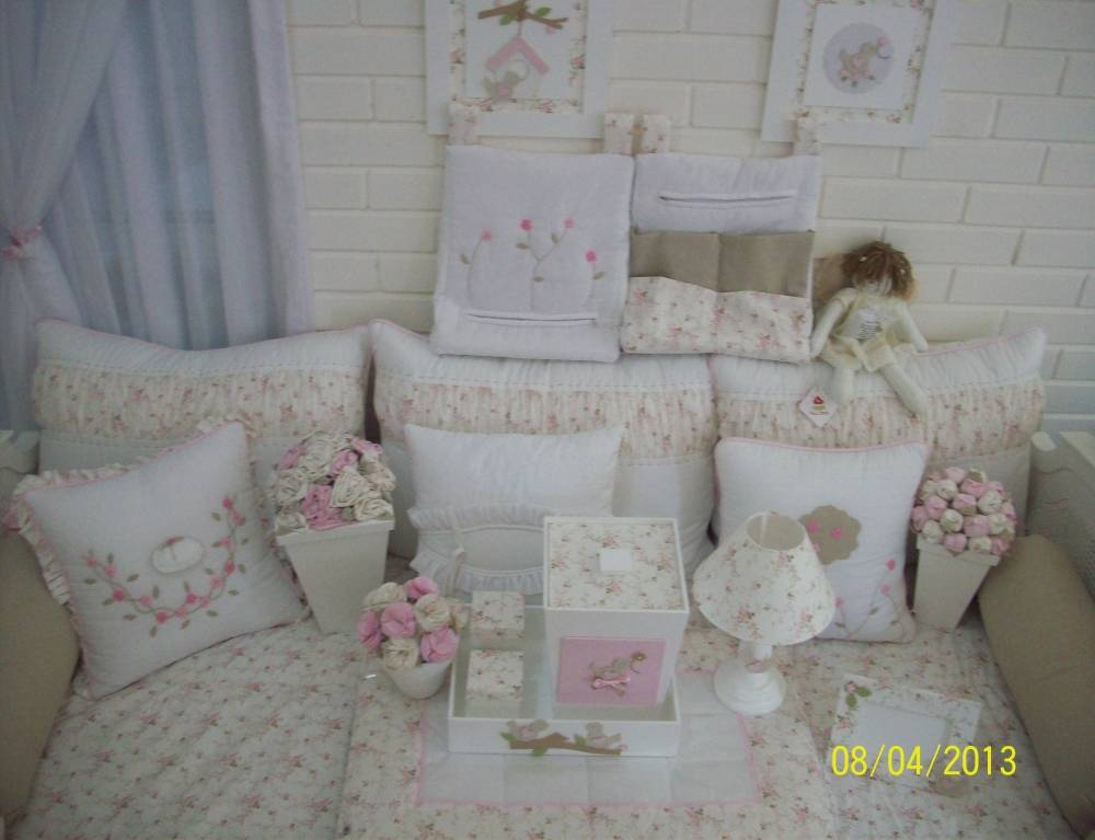 Decorações de Quarto para Bebê Feminino em São Domingos - Decoração Quarto Bebê Feminino