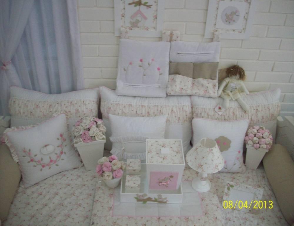 Decorações de Quarto Pequeno de Bebê em Alphaville - Decoração Quarto de Bebê Menina