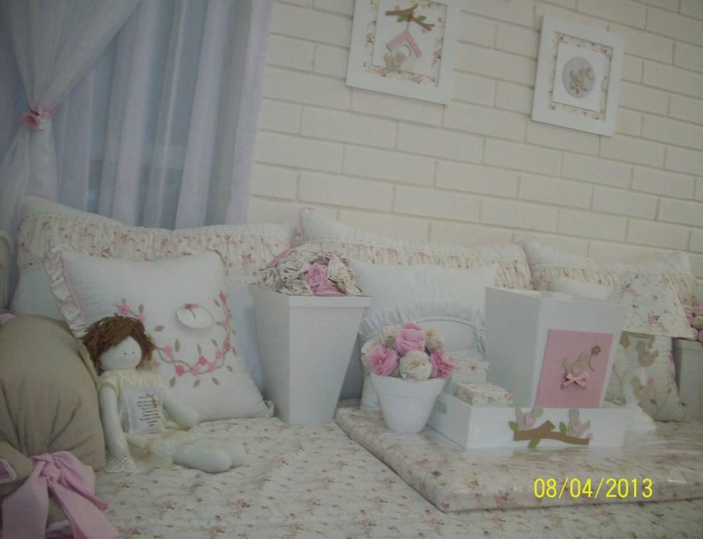 Decorações de Quartos Bebê Feminino em Santana de Parnaíba - Decoração Quarto Bebê Feminino