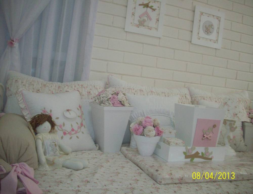 Decorações de Quartos Bebê Feminino no Bom Retiro - Decoração de Quarto de Bebê Feminino em Guarulhos