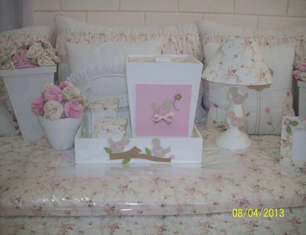 Decorações de Quartos para Bebê Feminino em Embu Guaçú - Decoração de Quarto de Bebê Feminino Rosa