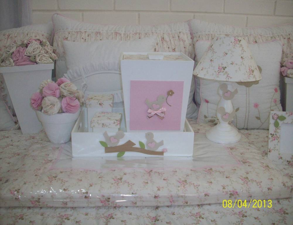 Decorações para Quartos de Bebê em José Bonifácio - Kit Decoração Quarto Bebê