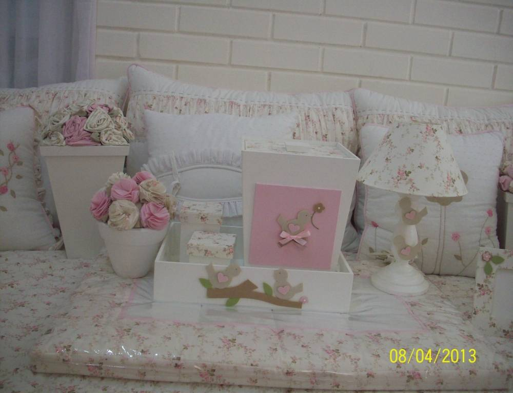 Decorações Quarto de Bebê Menina em Santa Cecília - Decoração de Quarto de Bebê em Apartamento Pequeno