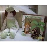 Decoração do quarto do bebê masculino na Casa Verde